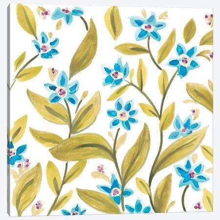 Abbey Floral Tiles IV Canvas Print #JEV687} by June Erica Vess Art Print