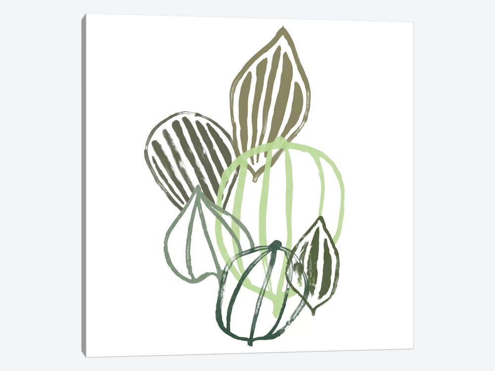 Botanical Interim I by June Erica Vess 1-piece Canvas Art