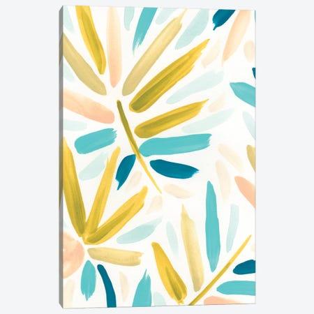 Calypso Confetti I Canvas Print #JEV719} by June Erica Vess Canvas Wall Art