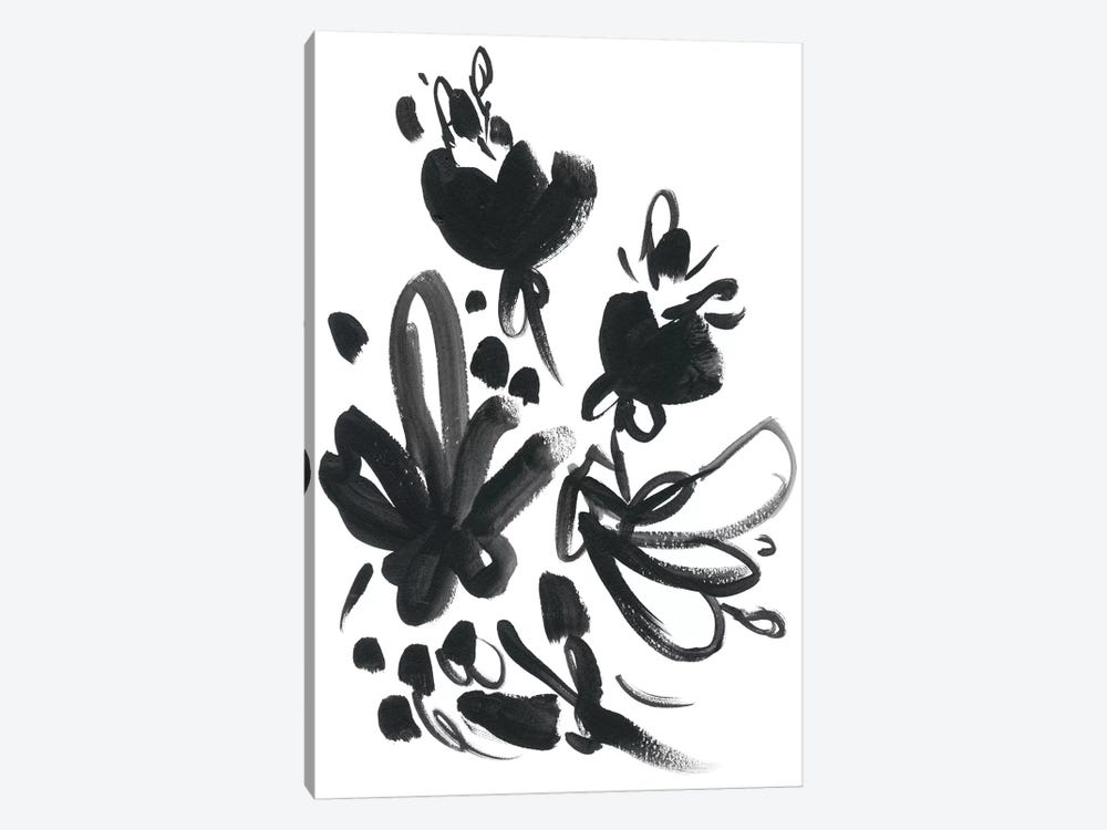 Cameo Bloom II 1-piece Canvas Print