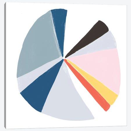 Color Wheel II Canvas Print #JEV728} by June Erica Vess Canvas Art Print
