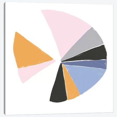 Color Wheel III Canvas Print #JEV729} by June Erica Vess Canvas Print
