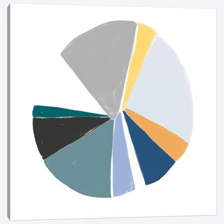 Color Wheel VI Canvas Print #JEV732} by June Erica Vess Canvas Art