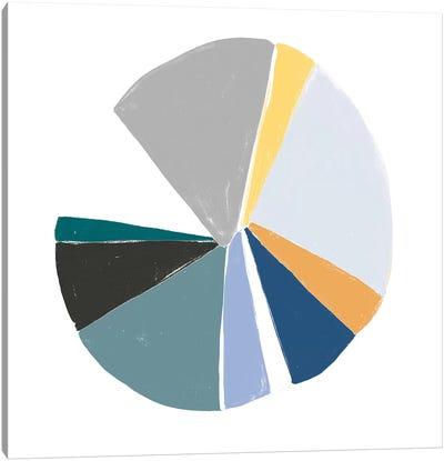 Color Wheel VI Canvas Art Print