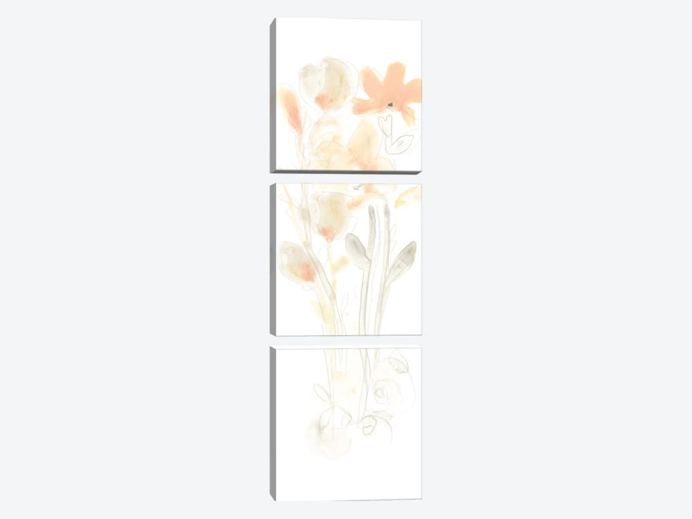 Corsage I by June Erica Vess 3-piece Canvas Print