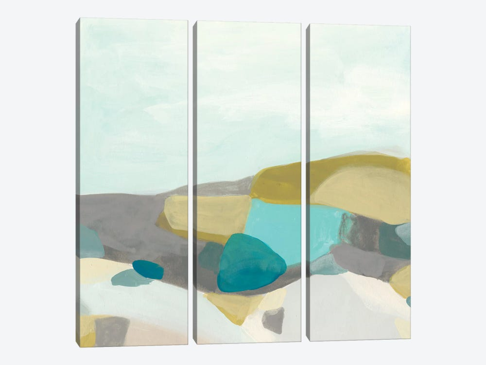 Fieldscape Vista I by June Erica Vess 3-piece Art Print