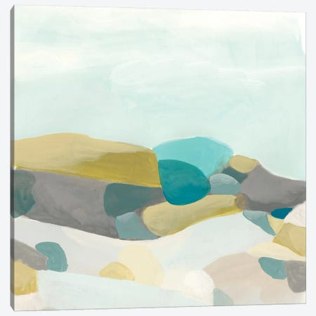 Fieldscape Vista II Canvas Print #JEV740} by June Erica Vess Art Print
