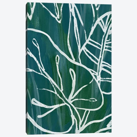 Jungle Batik I Canvas Print #JEV741} by June Erica Vess Art Print