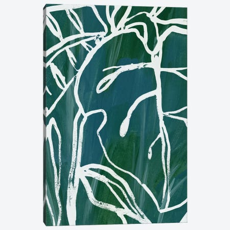 Jungle Batik II Canvas Print #JEV742} by June Erica Vess Canvas Art Print