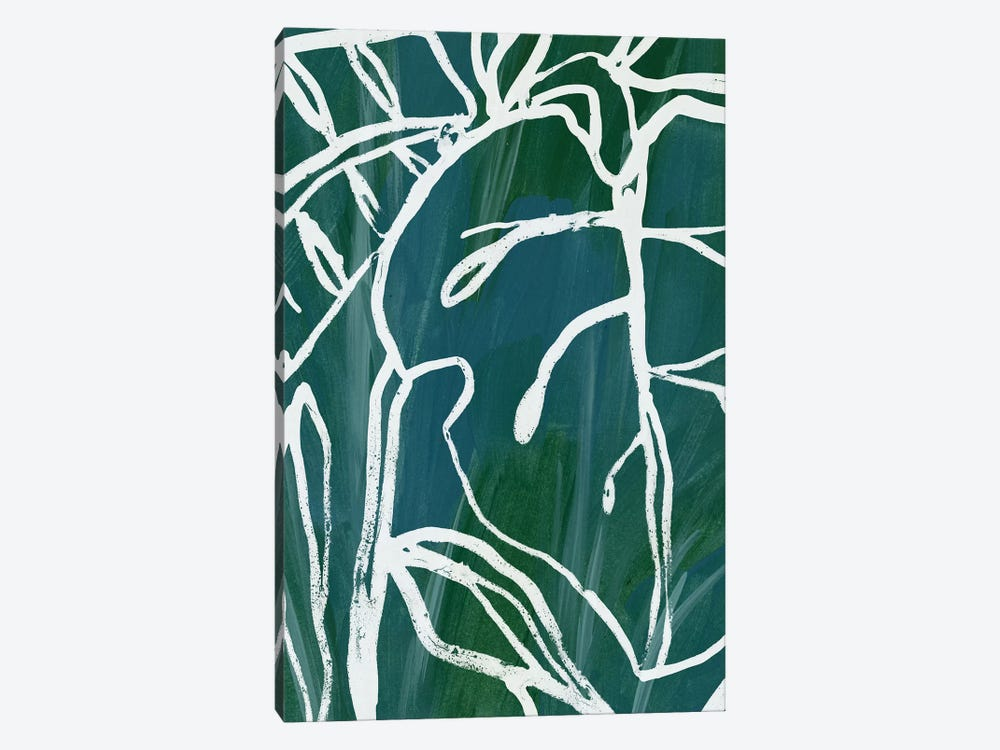 Jungle Batik II by June Erica Vess 1-piece Canvas Art Print