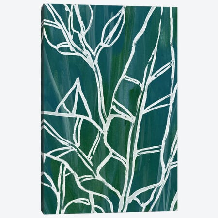 Jungle Batik III Canvas Print #JEV743} by June Erica Vess Canvas Art Print