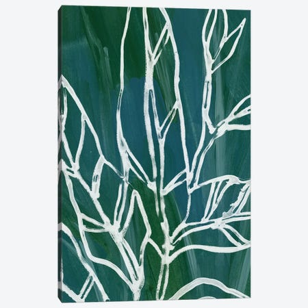 Jungle Batik IV Canvas Print #JEV744} by June Erica Vess Canvas Art
