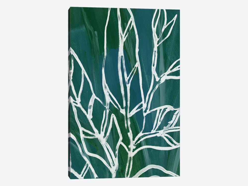 Jungle Batik IV by June Erica Vess 1-piece Canvas Print