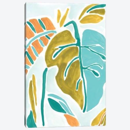 Jungle Expression II Canvas Print #JEV746} by June Erica Vess Canvas Artwork