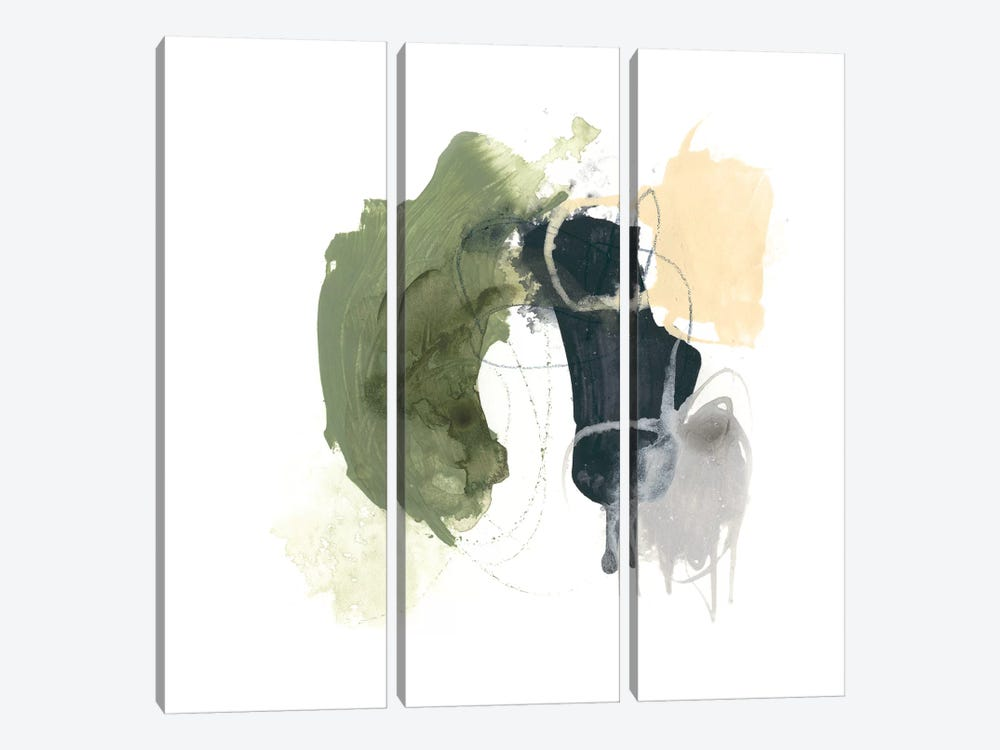 Lichen Gesture I by June Erica Vess 3-piece Canvas Art