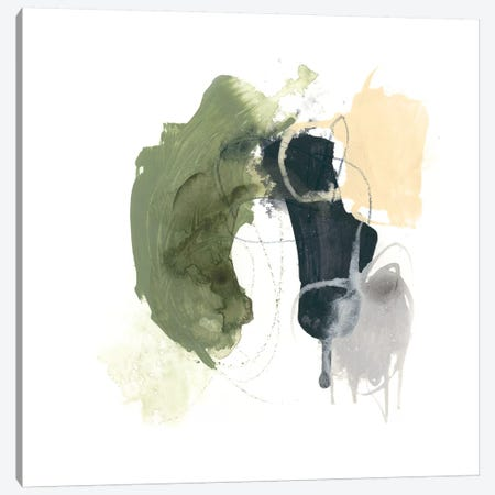 Lichen Gesture I Canvas Print #JEV749} by June Erica Vess Art Print