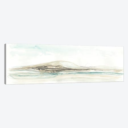Liquid Hillscape I Canvas Print #JEV751} by June Erica Vess Canvas Art