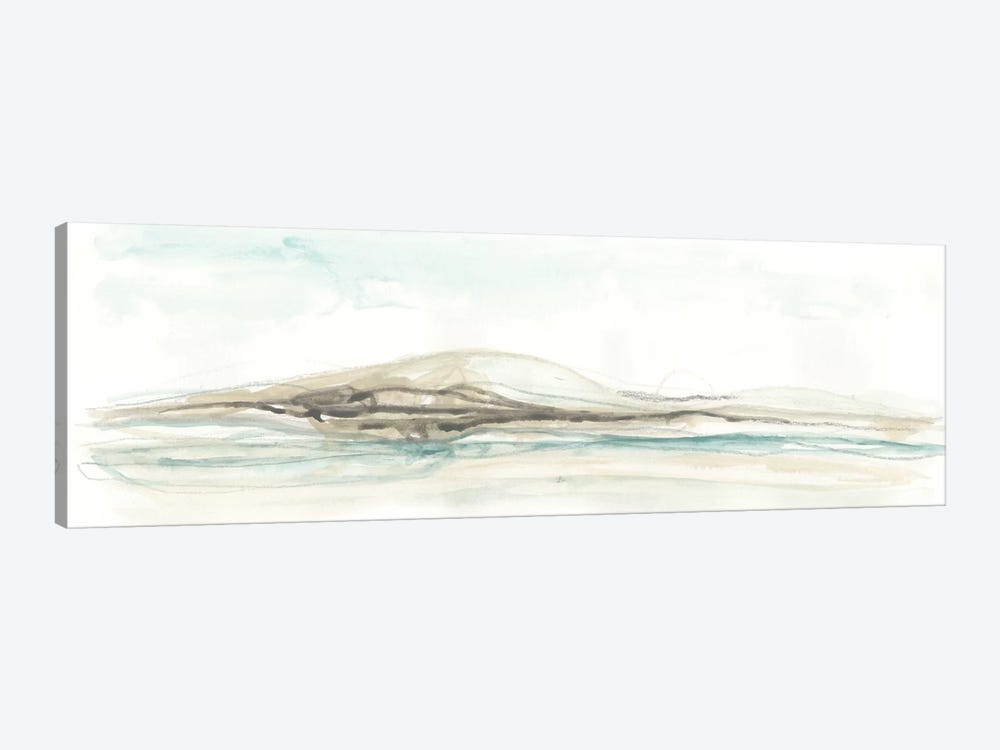 Liquid Hillscape I by June Erica Vess 1-piece Canvas Art Print