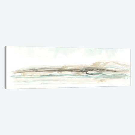 Liquid Hillscape II Canvas Print #JEV752} by June Erica Vess Canvas Wall Art