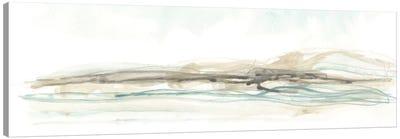 Liquid Hillscape II Canvas Art Print