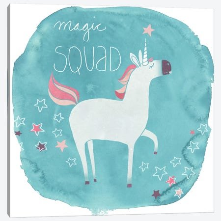 Magic Unicorn Squad III 3-Piece Canvas #JEV761} by June Erica Vess Canvas Art Print