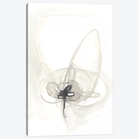 Neutral Floral Gesture IV Canvas Print #JEV781} by June Erica Vess Art Print