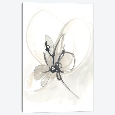 Neutral Floral Gesture VI Canvas Print #JEV784} by June Erica Vess Canvas Art