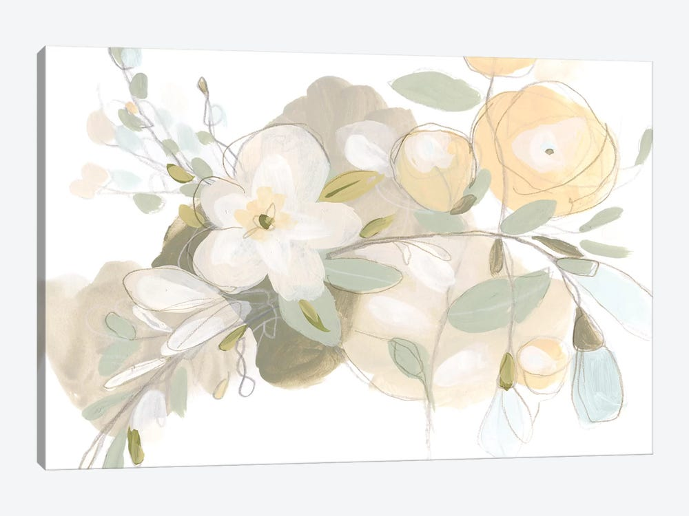 Planifolia II by June Erica Vess 1-piece Canvas Art