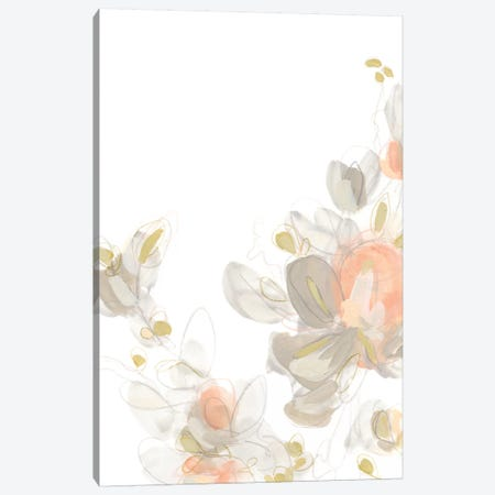 Roseus I Canvas Print #JEV817} by June Erica Vess Canvas Art