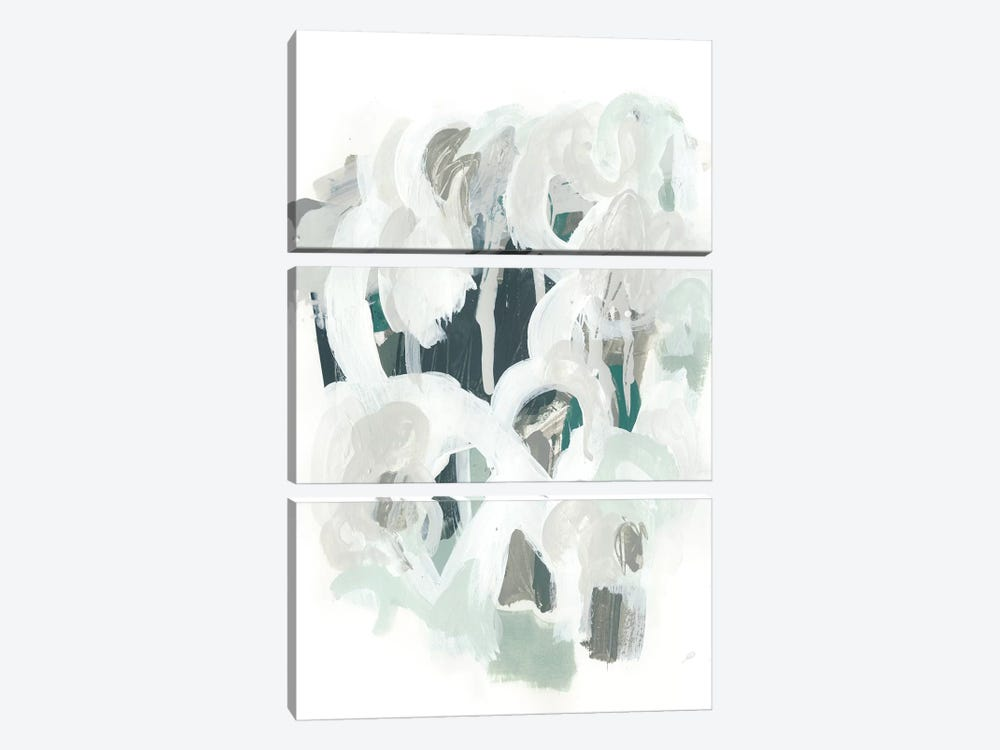 Sage & Slate I by June Erica Vess 3-piece Canvas Artwork