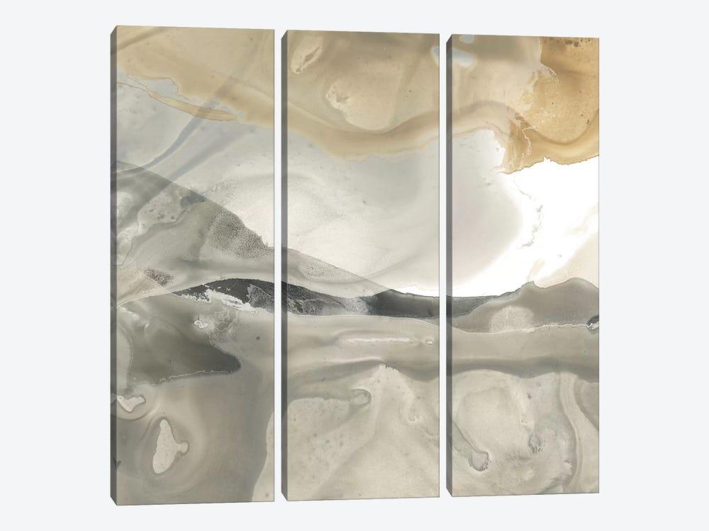 Tectonic Drift II by June Erica Vess 3-piece Canvas Print