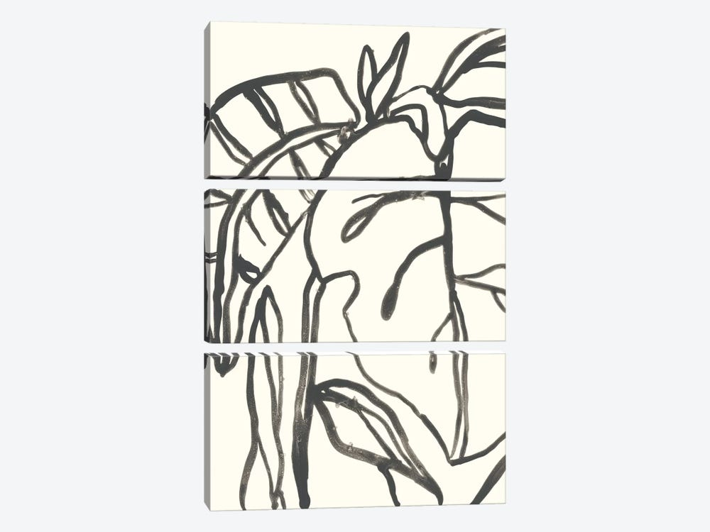 Tropical Contour I by June Erica Vess 3-piece Art Print