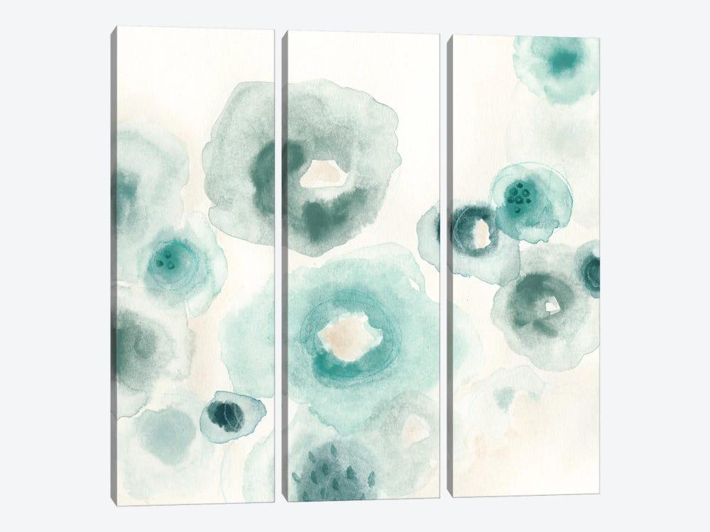 Aquatic Garden I by June Erica Vess 3-piece Canvas Art