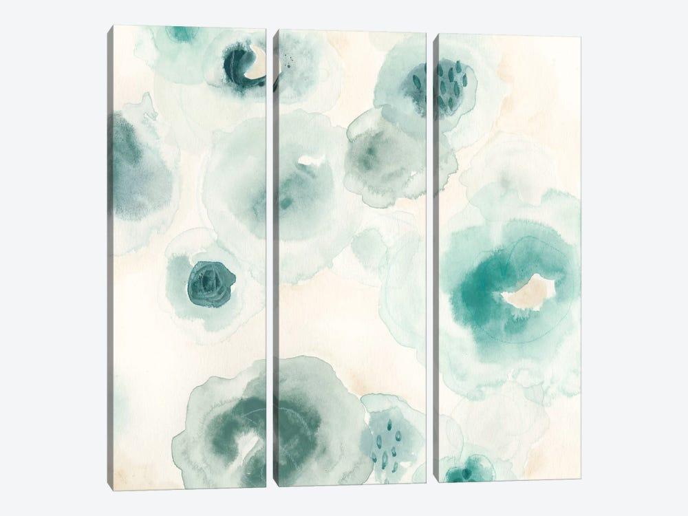 Aquatic Garden II by June Erica Vess 3-piece Canvas Art Print