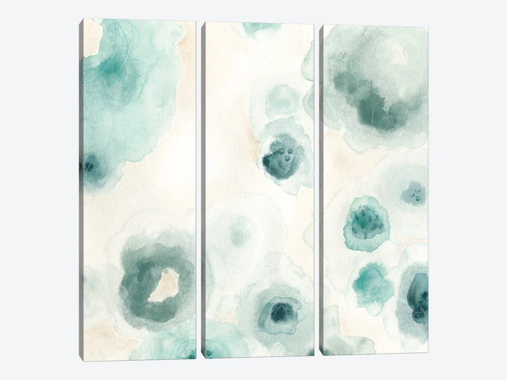 Aquatic Garden III 3-piece Canvas Wall Art