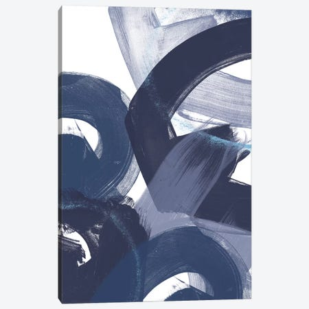 Blue On Blue II Canvas Print #JEV890} by June Erica Vess Art Print