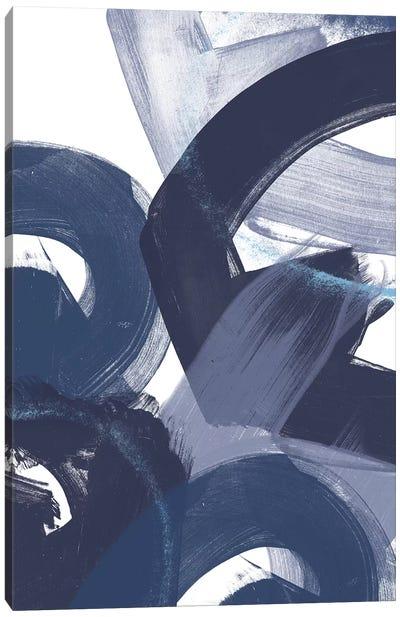 Blue On Blue II Canvas Art Print