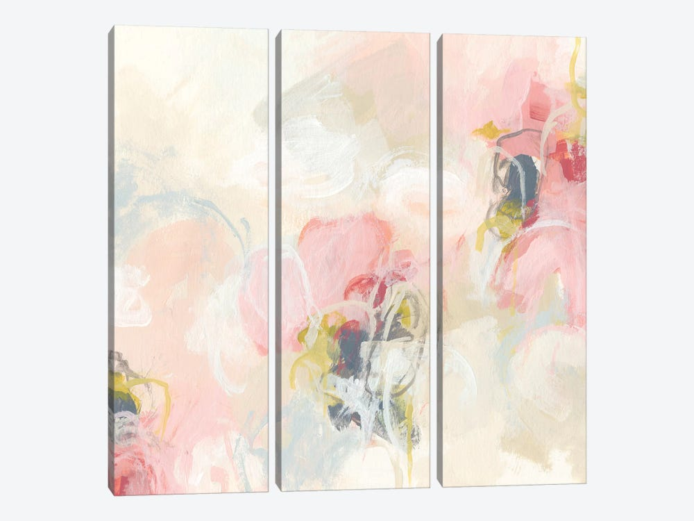 Cherry Blossom II by June Erica Vess 3-piece Canvas Art