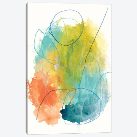 Chromatic Index I Canvas Print #JEV895} by June Erica Vess Canvas Artwork