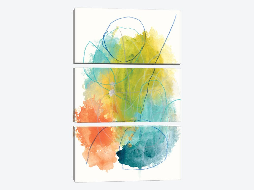 Chromatic Index I by June Erica Vess 3-piece Canvas Print