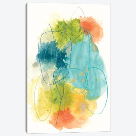 Chromatic Index II Canvas Print #JEV896} by June Erica Vess Canvas Artwork