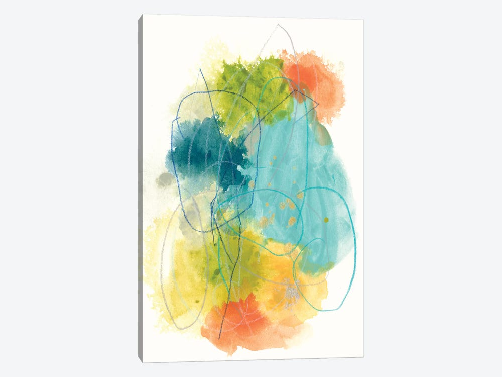 Chromatic Index II by June Erica Vess 1-piece Canvas Wall Art