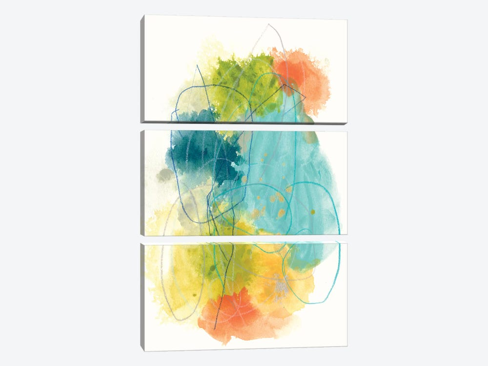 Chromatic Index II by June Erica Vess 3-piece Canvas Artwork