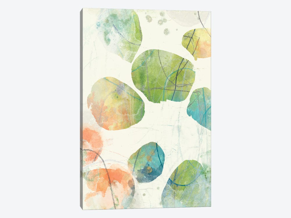 Color Motion III by June Erica Vess 1-piece Canvas Print