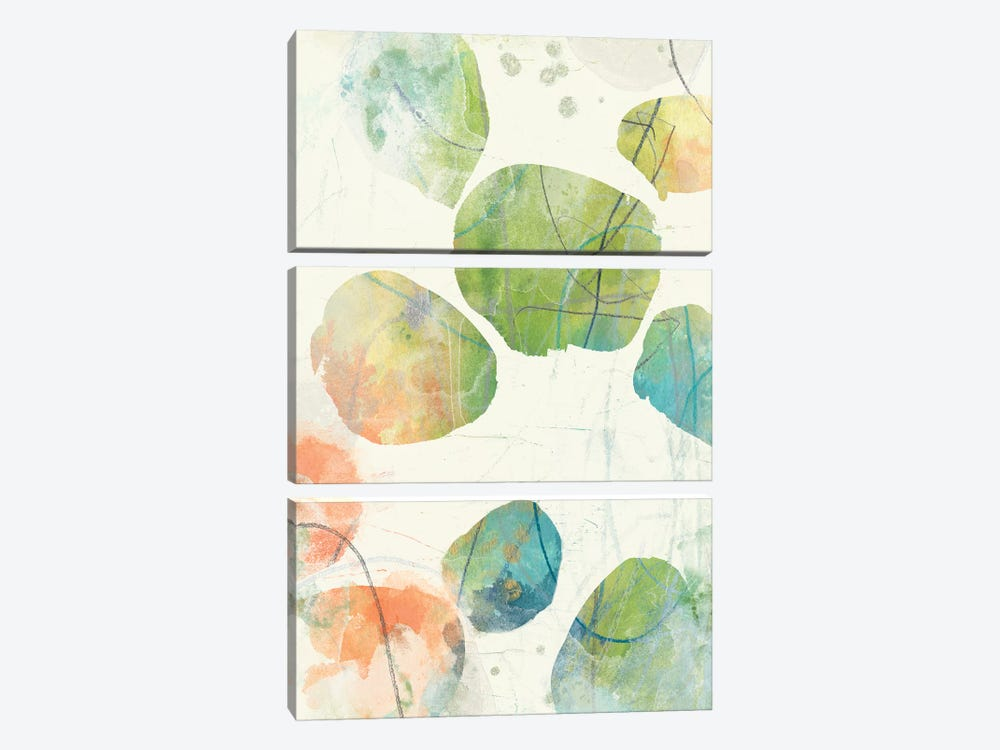 Color Motion III by June Erica Vess 3-piece Art Print