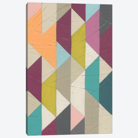 Confetti Prism IV Canvas Print #JEV899} by June Erica Vess Canvas Art Print