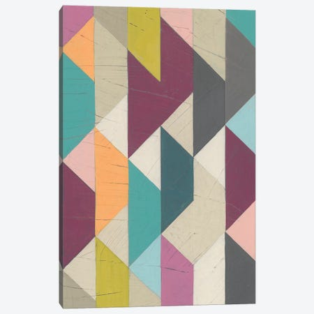 Confetti Prism V Canvas Print #JEV900} by June Erica Vess Art Print