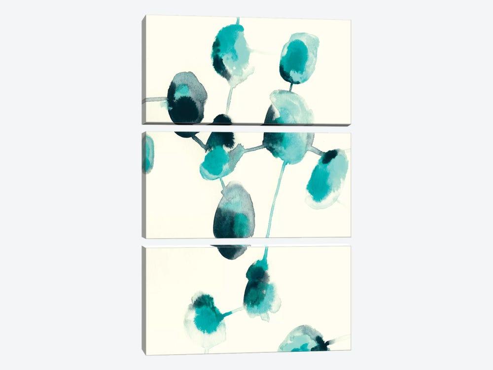 Fluid Structure I by June Erica Vess 3-piece Art Print
