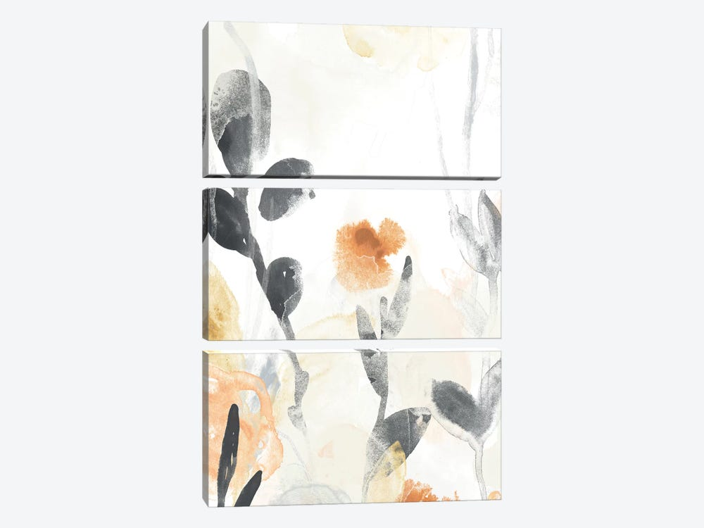 Garden Flow I by June Erica Vess 3-piece Canvas Wall Art