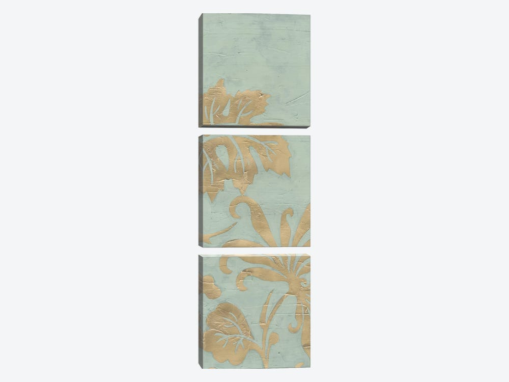 Graceful Garden Triptych I by June Erica Vess 3-piece Canvas Print